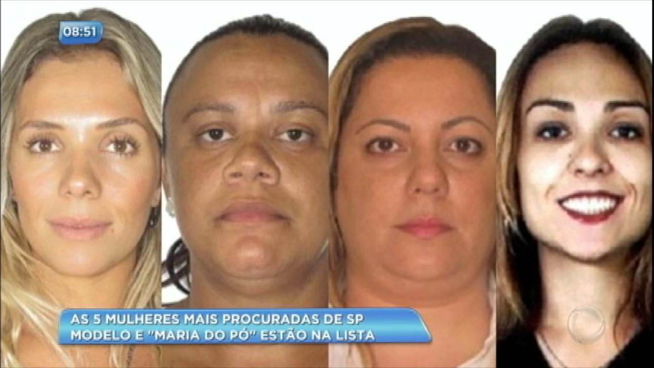 a10d1a5d7 Conheça as cinco criminosas mais procuradas pela polícia de São Paulo