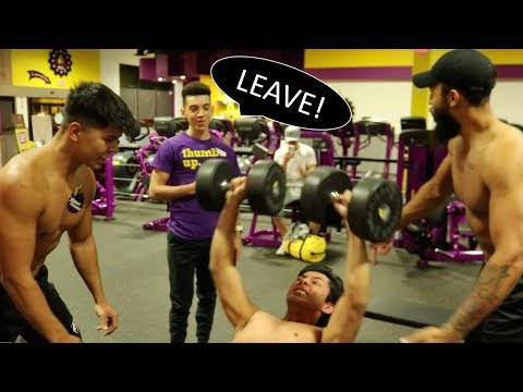 Getting Kicked Out Of Planet Fitness Shirtless, Screaming, Slamming Weights
