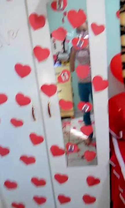 Populares surpresa um ano namoro/QUARTO DECORADO - YouTube CY48