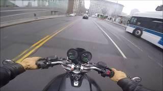 Wet Thursday, Warm Days, Williamsburg to Dumbo v700