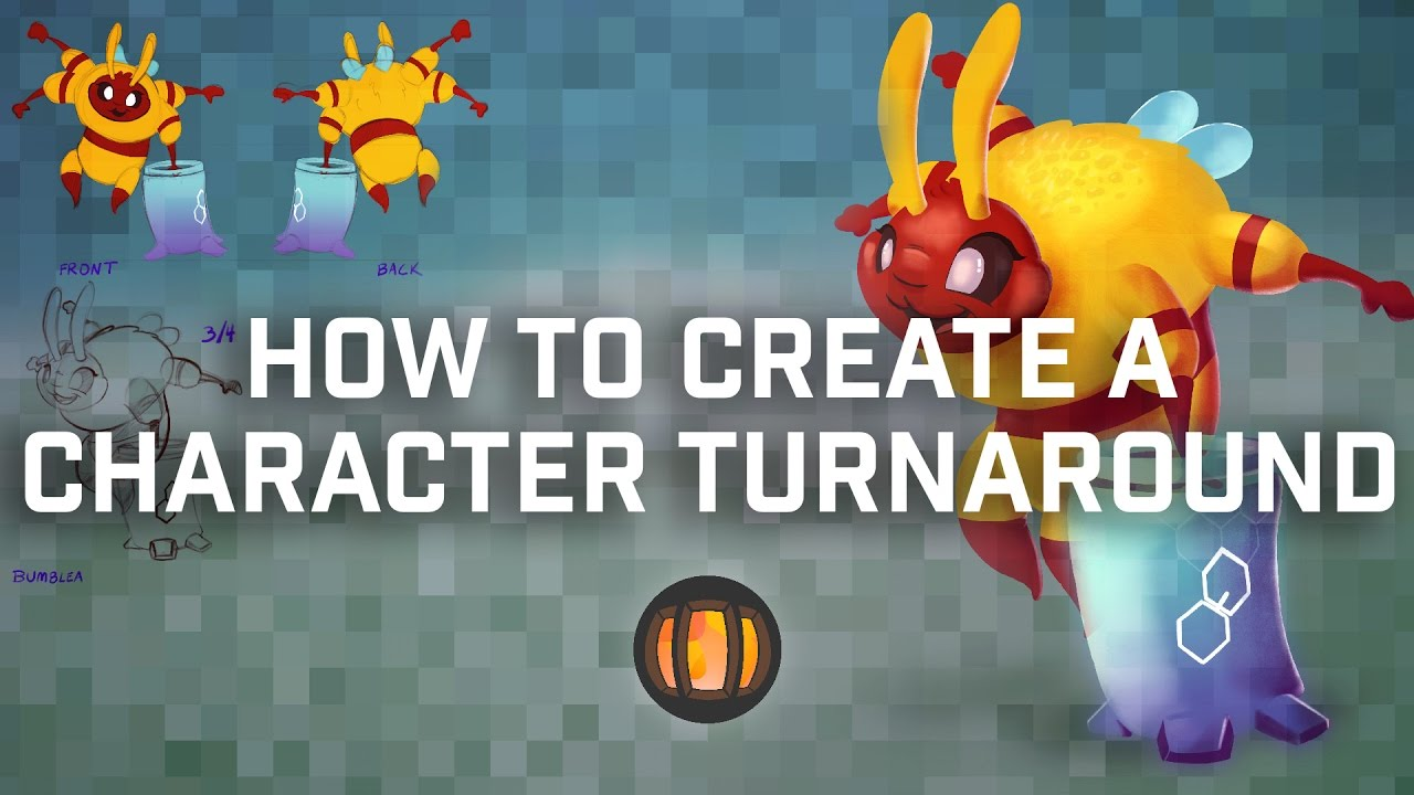 Character Design Forge : How to make a character design turnaround youtube