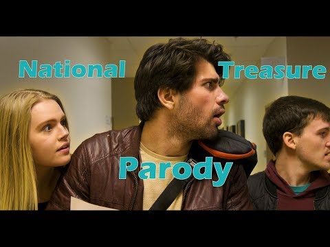 National Treasure Parody | Liberty University Spring Coffeehouse 2018 | The Motion Picture