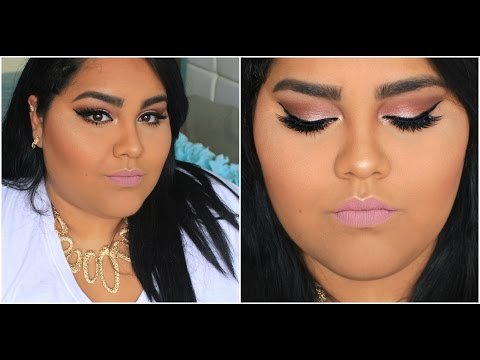 FULL GLAM makeup tutorial | Curvy it girl. http://bit.ly/2Clqkib