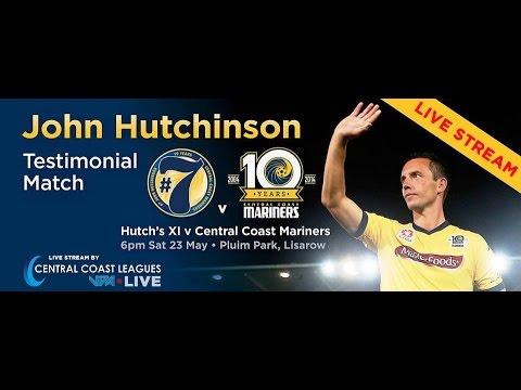 LIVE STREAM: John Hutchinson's Testimonial Match