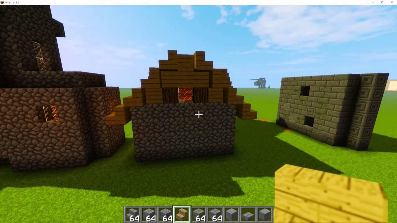 Hausbau Serie Wändebauencoolmen YouTube - Minecraft hausbau mod 1 7 10