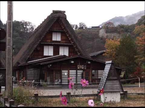 五个山合掌结构建筑村落