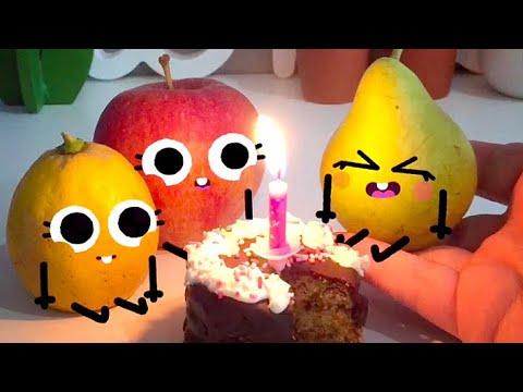 Cute Food Doodles Compilation 🍋🍎🍐 #04
