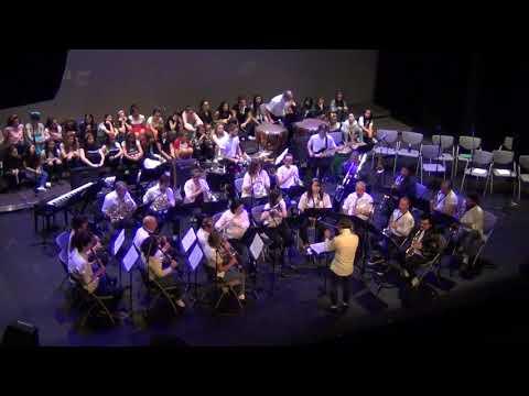 BilbaoMusika Banda - Grease Medley (Campos Elíseos, 2018-5-30)