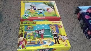 Покупки детский мир игрушки//пазлы