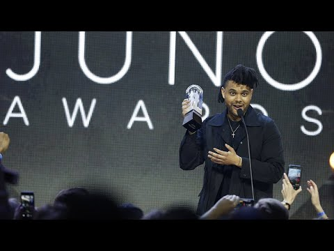 The Weeknd Wins Album Of The Year Sponsored by Music Canada at The 2016 JUNO Awards