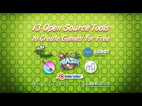 13 free Open Source software to make your games!