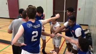 Preston vs Sir John A. MacDonald in boys volleyball