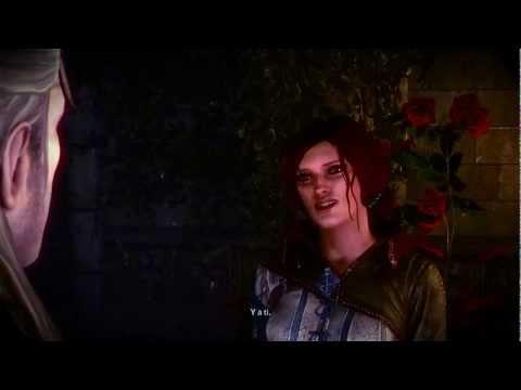 Witcher 2, Escenas de Sexo con Triss Merigold