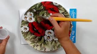Aprenda Fazer Decoração no Prato – Artesanato