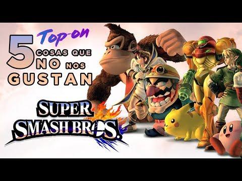 Top-On – 5 cosas que no nos gustan de Super Smash Bros.