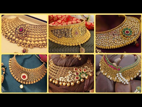 Beautiful Very Beautiful Gold Necklace Sets Designs 2020 Collection For Womens,Gold Jewellery Design
