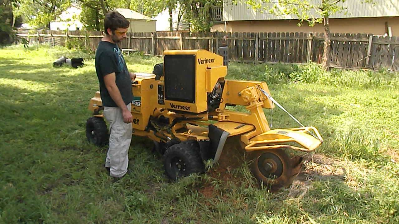 2007 Vermeer Sc 352 Stump Grinder Youtube