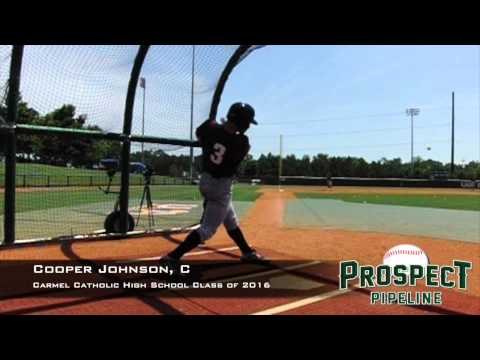 Cooper Johnson, C, Carmel Catholic High School, Swing Mechanics at 200 fps #TOS15