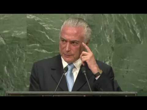 COMPLETO: Discurso de Temer na abertura da ONU