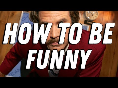 How To Be Funny  | Video Essay