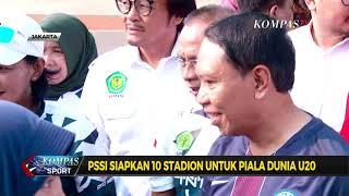 PSSI Siapkan 10 Stadion Untuk Piala Dunia U-20