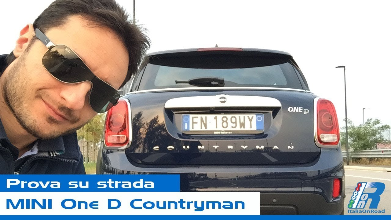 Prova Su Strada Mini One D Countryman Test Drive Youtube