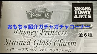 【Disney Princess ステンドグラスチャーム1】Disney Princess Stained Glass Charm thumbnail