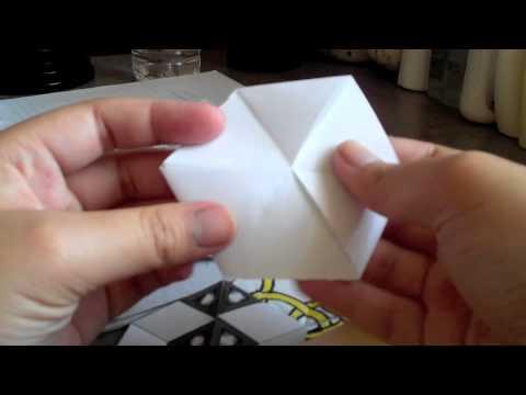 How To Make Tri-Hexaflexagon (with Audio)