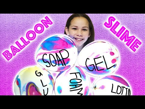 Download Youtube: Making Slime With GIANT Balloons! GIANT Slime Balloon Tutorial