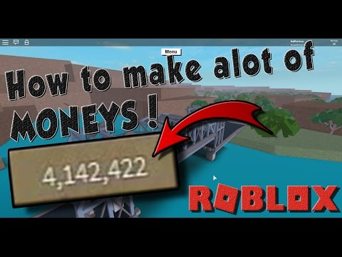 How to make ALOT OF MONEY! Roblox Lumber Tycoon 2