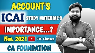 CA Foundation Accounts Nov. 2021 I CTC Classes CA Foundation