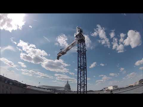 Tower Crane Build Time Lapse