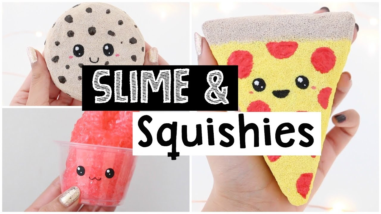 May Kawaii Squishy And Slime : DIY CUTEST SATISFYING SLIME AND SQUISHIES! - YouTube