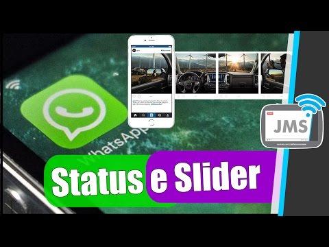 Como usar o WhatsApp Stories e o Instagram Slideshow