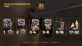 Crossout. Flame Raiders Tournaments: Big Black Scorpions 19
