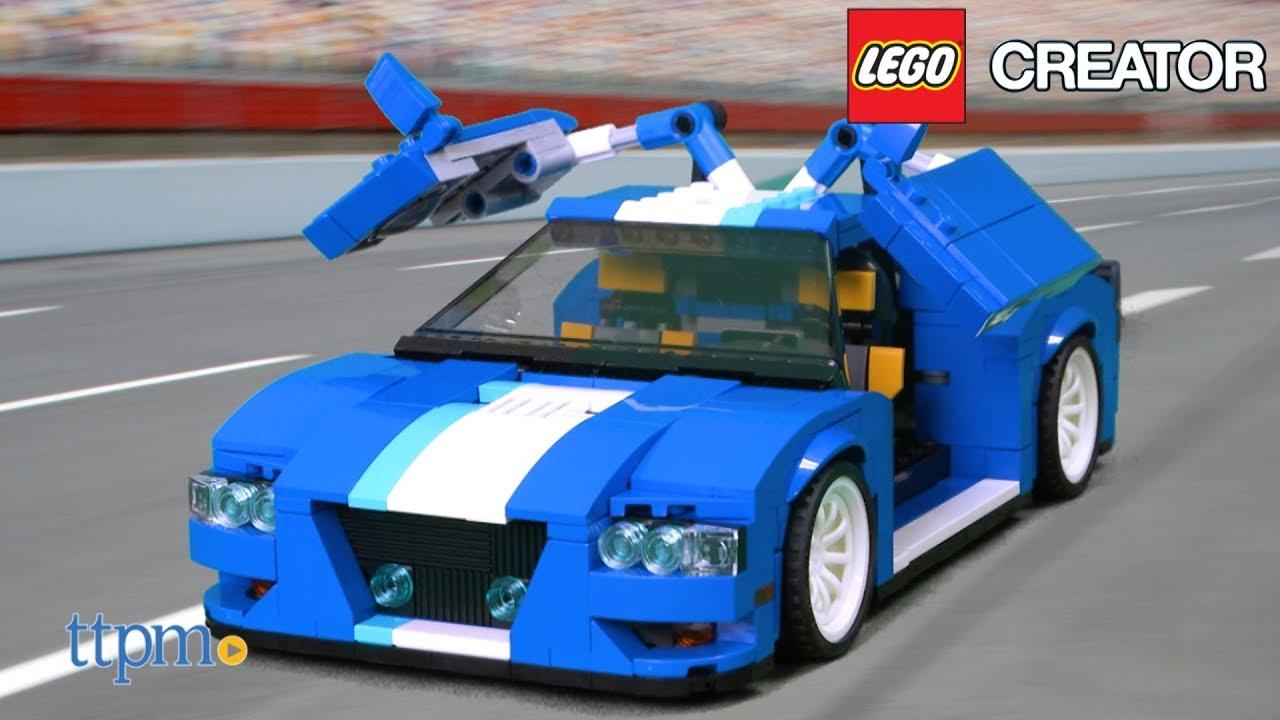 Lego Creator Turbo Track Racer From Lego Youtube