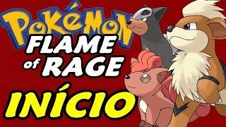 Pokémon Flame of Rage (Hack Rom) - O Início