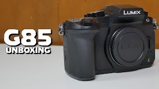 Panasonic DMC-G85 Unboxing & First Impressions (Tests Included)