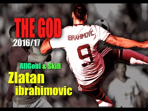 Zlatan Ibrahimovic - Goals & Skill - Manchester Uniter 2016/17
