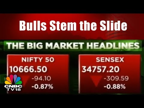 Sensex Falls 310 pts, Nifty Ends Below 10,700 || Markets Today Talk Back || CNBC TV18