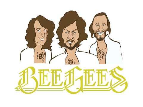 Bee Gees - Blowin In The Wind (Lyrics)