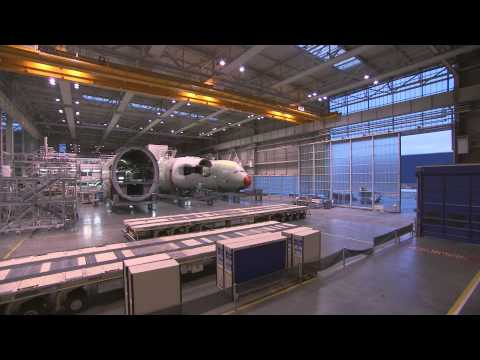 From Concept to Reality  Qatar Airways Airbus A380 (Episode 1: The Assembly Line)