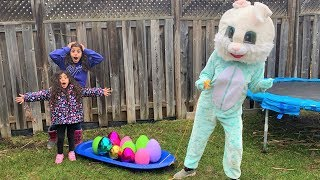 Easter Egg Hunt Surprise Toys!! Kids Pretend play