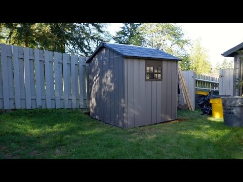 Keter Oakland Shed Assembly Time-Lapse | Built-Right