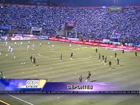 DEPORTES TVS CANAL 42 COLOR HONDURAS - JAMAICA 2013 TEG.