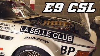 BMW E9 3.0 CSL racecars (incl. Flames and revving)