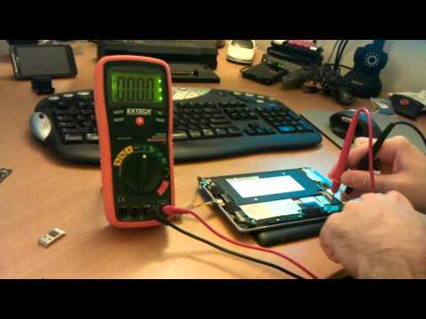 Nexus 7 Tablet USB/OTG Voltage Pinout & Points