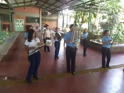 Banda Liceo San Jose de Cagua. Himno del Estado Aragua. Ensayo.