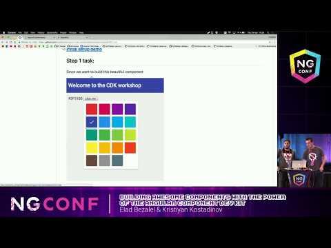 Angular Component Dev Kit - Elad Bezalel and Kristiyan Kostadinov