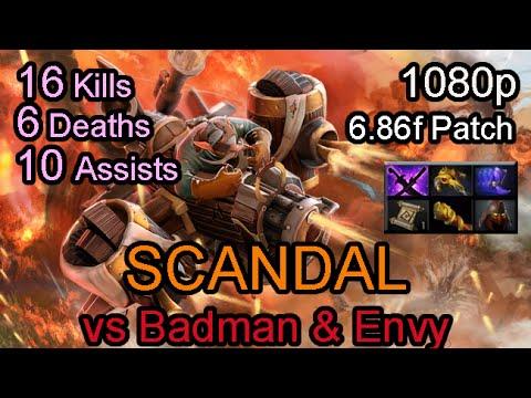 Scandal Gyrocopter vs EternalEnvy & Badman Ranked Full Game